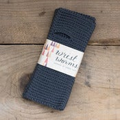 Image of Original Wrist Worms, Merino Wool, Dark Grey