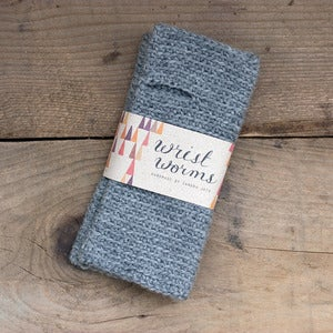 Image of Original Wrist Worms, Wool, Grey