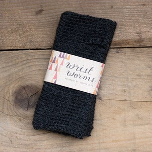 Image of Original Wrist Worms, Wool, Dark Dark Grey