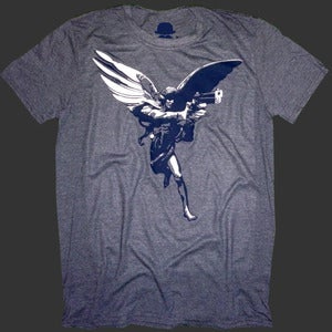 Image of 'Anteros - Love Avenger' Heather Navy Blue Mens T-shirt