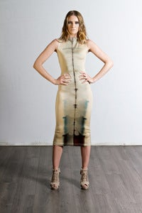 Image of Shibori Body Stocking Dress