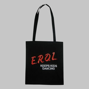 Image of E.R.O.L Keeps Kids Dancing Tote Bag (Black)