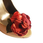 Image of Bridal Shoe Clip Set. Fall Harvest.