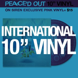 Image of PEACE'D OUT INTERNATIONAL VINYL