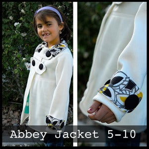 Image of Abbey Jacket Pattern Girls Sizes 5-10