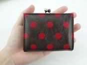 Image of 12/007: Polka Dots Purse