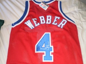 Image of Chris Webber, Bullets