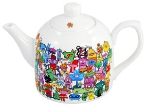 Image of Jon Burgerman - Doodle Teapot