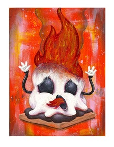 Image of S'more Oh ~ Mini Print