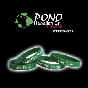 Image of Pono Hawaiian Grill Wristbands