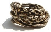 Image of Braided Brass Ring