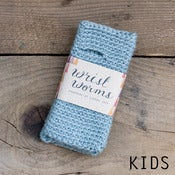 Image of Original Wrist Worms, Wool, Pale Blue (Kids)