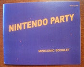 "Image of ""Nintendo Party"" Life In The Analog Age Minicomic"