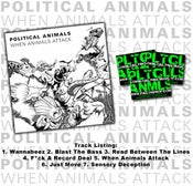 Image of When Animals Attack 7 Song EP