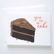 Image of You Take the Cake Card