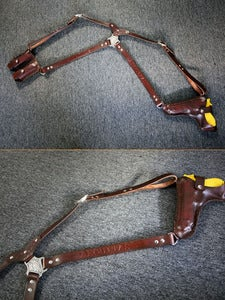 Image of Custom Leather Shoulder Holster