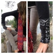 Image of free people thermal with design cuff