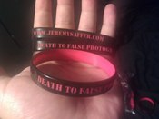 Image of SAFFER - Death to false photography bracelet