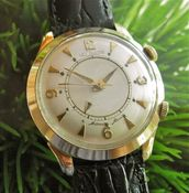 Image of VINTAGE LECOULTRE MEMOVOX ALARM WATCH - JUMBO - SOLD!