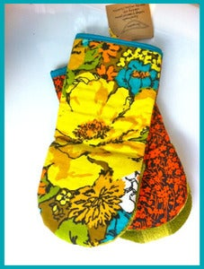 Image of J Bird Stitch Oven Mitts