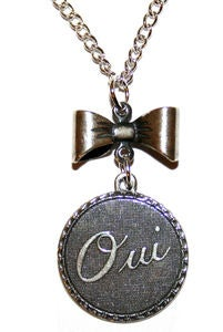 Image of Oui (GOLD & SILVER!)