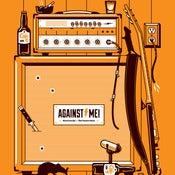 Image of Against Me! Cafe 11 Poster