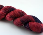 Image of Sante Sangre - SW BFL/Silk Sock Yarn - AIDS Foundation Fundraiser