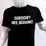 Image of Subsidie? Nee, bedankt.