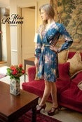 "Image of ""Good Morning Charlie"" Dress (teal flower)"