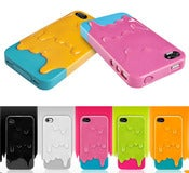 Image of Coque Ice Cream pour iPhone 4 et 4S