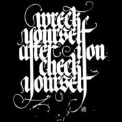 Image of WRECK YOURSELF AFTER YOU CHECK YOURSELF (T-shirt)