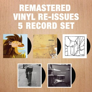 Image of Pedro The Lion: Remastered Vinyl Re-Issue / 5 Record Set