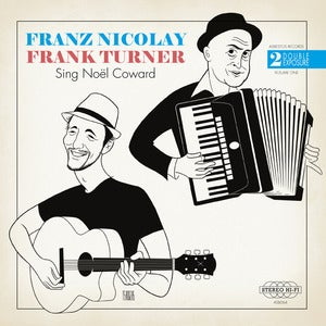Image of Double Exposure Vol 1. - Franz Nicolay &amp; Frank Turner 7&quot;