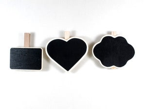 Image of Mini Chalkboard/Blackboard Pegs