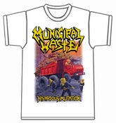Image of MUNICIPAL WASTE - Hazardous Mutation WHITE T-Shirt