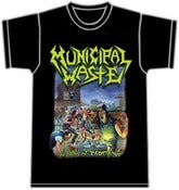 Image of MUNICIPAL WASTE - The Art Of Partying T-Shirt