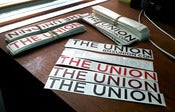 Image of The Union Stickers