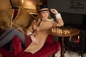 Image of 'Time After Time' Wool Mix Coat (camel)