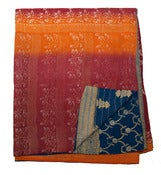 Image of Bangali Cotton Covers w/ Kantha Stitching B