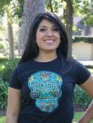 Image of CALAVERA tee (Black)