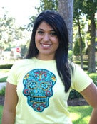 Image of CALAVERA tee (Yellow)