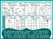 Image of September 2012 Stamp Release Package ~ Peachy