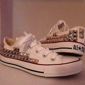 Image of Low Top Studded Converse