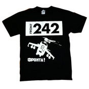 Image of FRONT 242-T-SHIRT/ Official Warfare- New