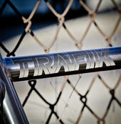 Image of TRAFIK REFLECTIVE BIKE DECAL
