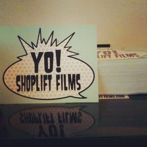 Image of YO SHOPLIFT FILMS(25 Stickers)