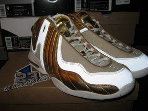 "Image of Air III (3) LE HoH ""Metallic Gold/White"""