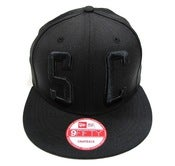 "Image of SO FRESH CLOTHING ""BIG BLOCK 2.0"" NEW ERA SNAPBACK (BLACK/BLACK)"