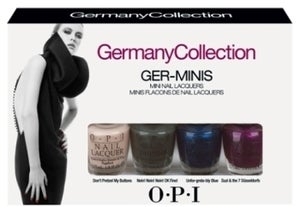 Image of OPI Nail Polish Germany Collection Fall Collection 2012 Fall Mini Set