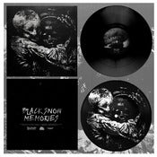 "Image of DK018: Worms Feed - Black Snow 7"" EP - Black w/ Screenprinted B-side /100"